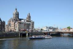Amsterdam - The Church of St Nicholas Stock Image