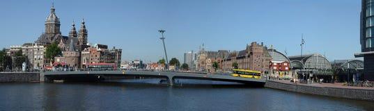 Amsterdam - around the main station Stock Photo