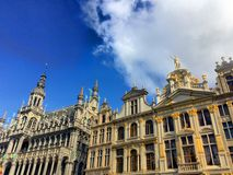 View from the center of Brussels Royalty Free Stock Images