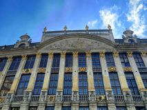 View from the center of Brussels Stock Photography