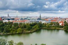 View on center of Copenhagen, Denmark Stock Photo