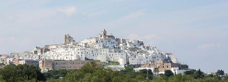 View on the center of Ostuni, Puglia, Italy Stock Photo