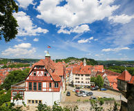 View on the center of Tubingen, Baden-Wurttemberg, Germany Royalty Free Stock Image