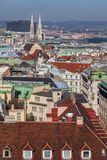 View of the center of Vienna from a high point Stock Images
