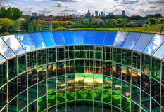 View of the center of Warsaw Royalty Free Stock Photography