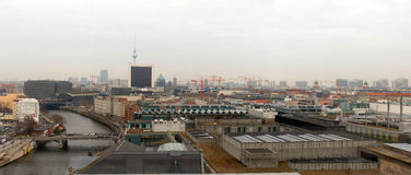 View of the central district of Berlin Stock Photo