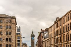 View of Central Glasgow in Scotland Stock Photo
