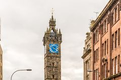 View of Central Glasgow in Scotland Royalty Free Stock Image