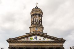 View of Central Glasgow in Scotland Stock Images