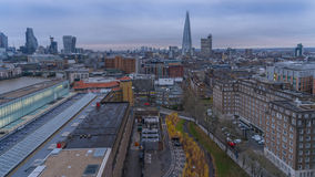 A view of Central London towards The Shard Stock Photos