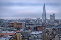 A view of Central London towards The Shard Stock Image