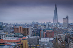 A view of Central London towards The Shard Stock Photography