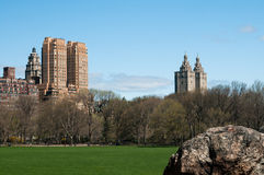 View from central park Royalty Free Stock Photography