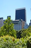 View from central park 4. A view from central park new york royalty free stock images
