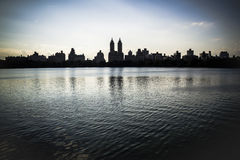 View from Central park Stock Image