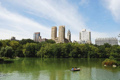View from Central Park in NYC Royalty Free Stock Photo