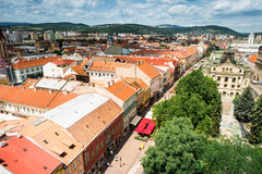 View on central part of Kosice Royalty Free Stock Photography