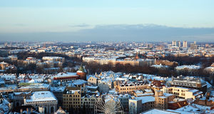 View of central part of Riga Stock Image