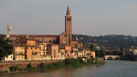 View of centre of Verona Stock Photography