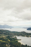 View from Cerro Campanario Royalty Free Stock Photography