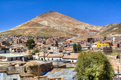 View on Cerro Rico in Potosi Royalty Free Stock Photography