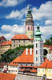 View Cesky Krumlov Royalty Free Stock Photography