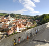 View at Cesky Krumlov Royalty Free Stock Photos