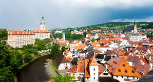 View of the Cesky Krumlov Stock Image
