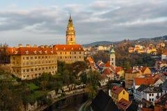 View on Cesky Krumlov Royalty Free Stock Photos