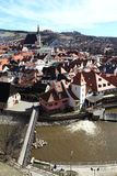 View of Cesky Krumlov Stock Images