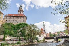 View of Cesky Krumlov Stock Photography