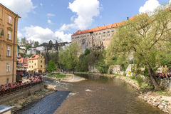 View of Cesky Krumlov Stock Photos