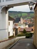 View of Cesky Krumlov. Czech republic Stock Images