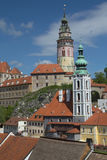 View of Cesky Krumlov (Czech Republic) Stock Images