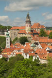 View of Cesky Krumlov (Czech Republic) Royalty Free Stock Images