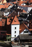 View of Cesky Krumlov town Royalty Free Stock Image
