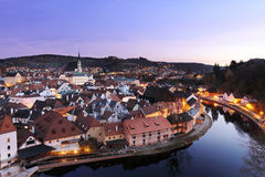 View of cesky Krumlov Royalty Free Stock Photo