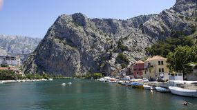 View on Cetina river royalty free stock photos