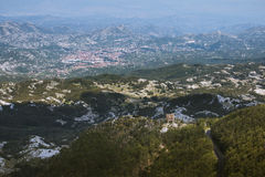 View on Cetinje Royalty Free Stock Photo