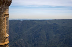 View on the Cevennes Stock Photo