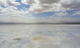 View of Chaka Salt Lake Stock Images