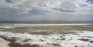 View of Chaka Salt Lake Royalty Free Stock Photo