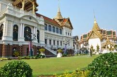View of Chakri maha prassat hall in gland palace of Bangkok ,Tha Stock Image
