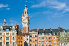 View on chamber of commerce in Lille Royalty Free Stock Photography