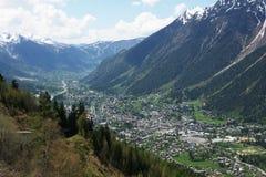 View on Chamonix Stock Photos