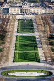 View of Champ de Mars Stock Photography