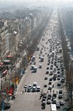 View of Champs Elysées Royalty Free Stock Photo