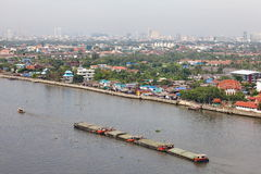 View of The Chao Phraya River Stock Photos