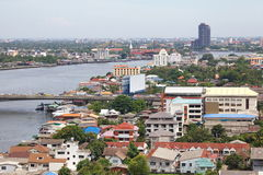 View of The Chao Phraya River Stock Image