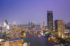 View of Chao Phraya river Stock Photo